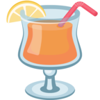 🍹 Facebook / Messenger «Tropical Drink» Emoji