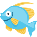 🐠 Смайлик Facebook / Messenger Tropical Fish - На сайте Facebook