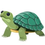 🐢 «Turtle» Emoji para Facebook / Messenger