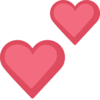 💕 Facebook / Messenger «Two Hearts» Emoji