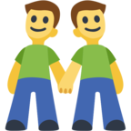👬 Facebook / Messenger «Two Men Holding Hands» Emoji