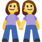 👭 Facebook / Messenger «Two Women Holding Hands» Emoji