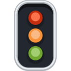 🚦 Смайлик Facebook / Messenger «Vertical Traffic Light»