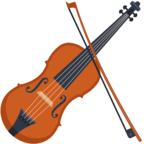 🎻 Facebook / Messenger «Violin» Emoji - Facebook Website version