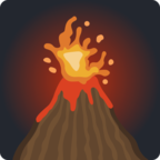 🌋 Facebook / Messenger Volcano Emoji - Facebook Website