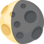 🌘 Facebook / Messenger «Waning Crescent Moon» Emoji