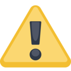 ⚠ Facebook / Messenger «Warning» Emoji