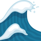🌊 «Water Wave» Emoji para Facebook / Messenger