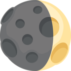 🌒 Facebook / Messenger «Waxing Crescent Moon» Emoji