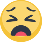 😩 Facebook / Messenger «Weary Face» Emoji