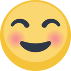 ☺ Смайлик Facebook / Messenger Smiling Face - На сайте Facebook