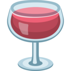 🍷 Facebook / Messenger Wine Glass Emoji - Facebook Website