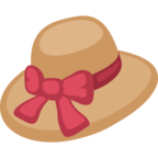 👒 Facebook / Messenger «Woman's Hat» Emoji - Version du site Facebook