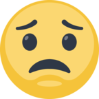 😟 Facebook / Messenger «Worried Face» Emoji
