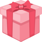 🎁 Смайлик Facebook / Messenger «Wrapped Gift»