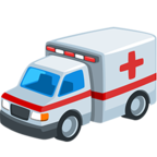 Facebook Emoji 🚑 - Ambulance Messenger