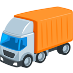 🚛 Facebook / Messenger «Articulated Lorry» Emoji - Messenger Application version