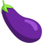 🍆 Смайлик Facebook / Messenger Eggplant - В Facebook Messenger'е