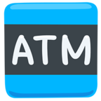 🏧 Facebook / Messenger «Atm Sign» Emoji - Messenger Application version