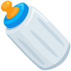 Facebook Emoji 🍼 - Baby Bottle Messenger