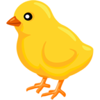 🐤 Facebook / Messenger «Baby Chick» Emoji - Messenger Application version
