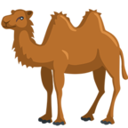Смайлик Facebook 🐫 - Two-Hump Camel В Messenger'е