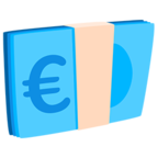 💶 Facebook / Messenger «Euro Banknote» Emoji - Messenger-Anwendungs version
