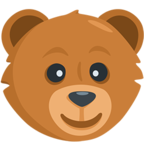 Facebook Emoji 🐻 - Bear Face Messenger