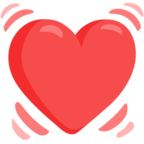 💓 Facebook / Messenger «Beating Heart» Emoji - Messenger Application version