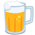 Facebook Emoji 🍺 - Beer Mug Messenger