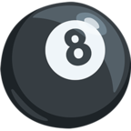 Смайлик Facebook 🎱 - Pool 8 Ball В Messenger'е