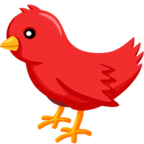 🐦 Facebook / Messenger Bird Emoji - Facebook Messenger