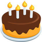Facebook Emoji 🎂 - Birthday Cake Messenger