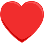 ♥ Facebook / Messenger Heart Suit Emoji - Facebook Messenger