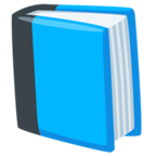 📘 Facebook / Messenger Blue Book Emoji - Facebook Messenger