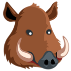 🐗 Facebook / Messenger «Boar» Emoji - Messenger Application version