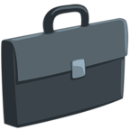 💼 Facebook / Messenger Briefcase Emoji - Facebook Messenger