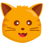 🐱 Facebook / Messenger «Cat Face» Emoji - Messenger Application version