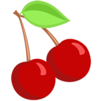 Facebook Emoji 🍒 - Cherries Messenger