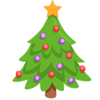 🎄 Facebook / Messenger «Christmas Tree» Emoji - Messenger Application version