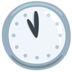 🕚 Facebook / Messenger Eleven O'clock Emoji - Facebook Messenger