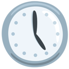 🕔 Facebook / Messenger «Five O'clock» Emoji - Messenger Application version