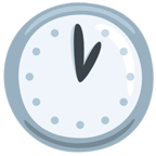 🕐 Facebook / Messenger «One O'clock» Emoji - Version de l'application Messenger