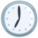 🕖 Facebook / Messenger «Seven O'clock» Emoji - Messenger Application version