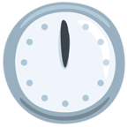 🕛 Facebook / Messenger Twelve O'clock Emoji - Facebook Messenger