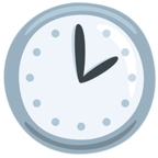 🕑 Facebook / Messenger «Two O'clock» Emoji - Messenger Application version
