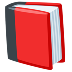 📕 Facebook / Messenger Closed Book Emoji - Facebook Messenger