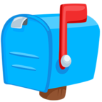 Facebook Emoji 📫 - Closed Mailbox With Raised Flag Messenger