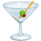 Смайлик Facebook 🍸 - Cocktail Glass В Messenger'е