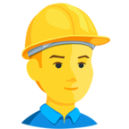 👷 Facebook / Messenger «Construction Worker» Emoji - Messenger Application version